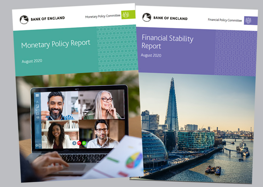 Bank of England - Monetary Policy and Financial Stability Reports