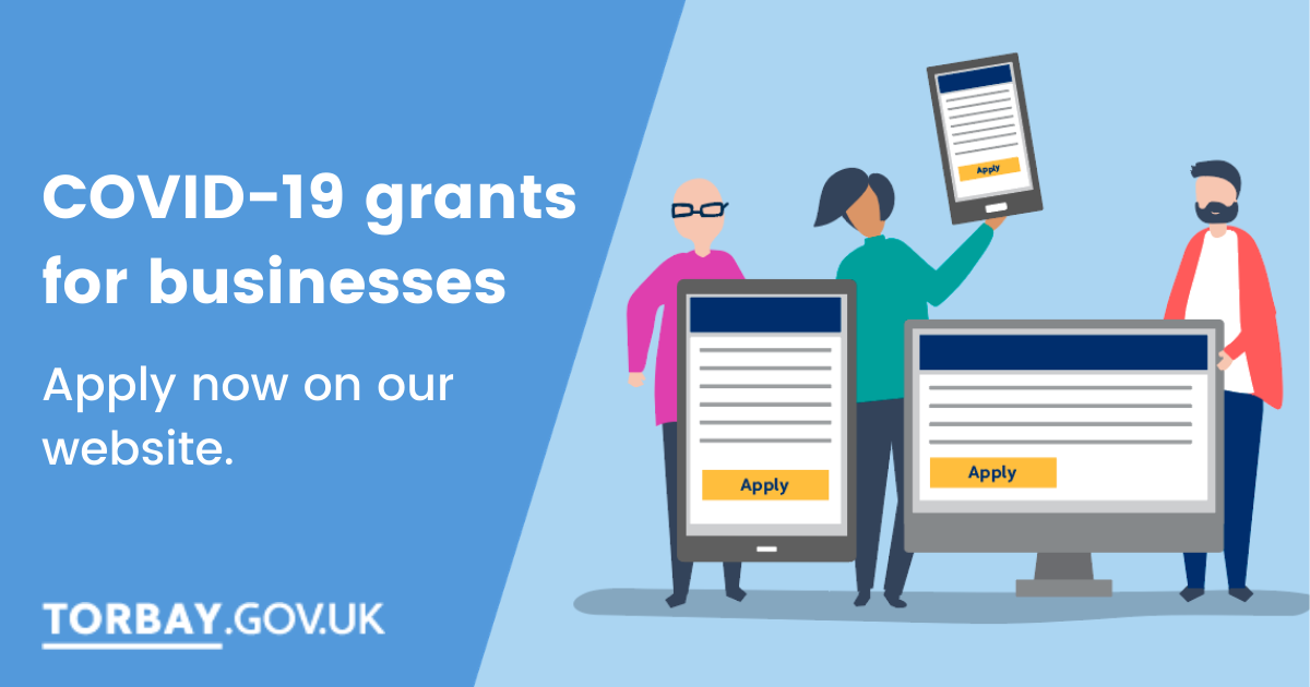 Covid-19 grant applications now live