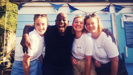 TV Chef Ainsley Harriott in Brixham!