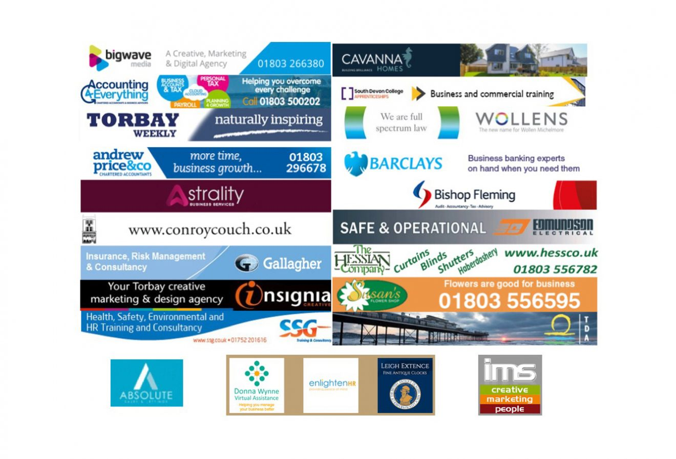 Huge thanks to all our Sponsors